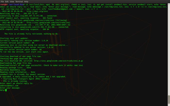 interactive script